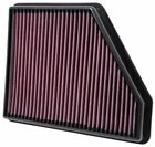 K&N Replacement Drop in Panel Air Filter For 2010-15 Chevrolet Camaro 3.6L 6.2L