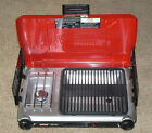 Coleman Camping Stove Grill Propane Gas 2 Burner Portable Outdoor Cooker Red
