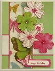 Card making kit 5 Birthday Thanks Sympathy Get Well Thinking of You Stampin Up