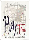 PLAYTIME PLAY TIME 1967 Jacques Tati French 47x63 poster Filmartgallery
