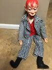 Vintage MORTIMER SNERD ventriloquist dummy JURO NOVELTY CO 1968 60s doll puppet
