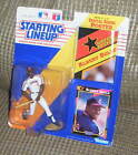 1991 ALBERT BELLE FIGURE Starting Lineup Indians Mint in Package Kenner MLB