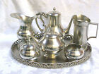 7 Royal Holland Pewter Tea and Coffee  Service