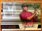 Tiger Woods 2003 SP Game Used Scorecard Signature Autograph SS-TW6