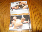 2011 ufc title shot silver cards lot of 57 cards number to 188