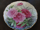 Hand Painted Floral Decorative Plate Charger Signed