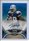 2011 DeMarco Murray Dallas Cowboys Autograph Blue Refractor Rookie Card 19 99