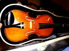 Draisen West Germany 4/4  violin  with bow and case
