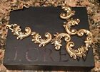 J.Crew STAGGERED SCROLLWORK NECKLACE! Sold Out Nwot New$75 Antique Gold With Box