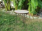 Vintage Mid-Century Modern HairPin Leg TABLE  Era