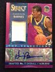 2013-14 Panini Select Harrison Barnes PURPLE Top Selections Auto Patch - 3 30 SP