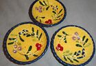 STYLE EYES BLUE FLORAL BAUM BROTHERS SET OF THREE SMALL BOWLS 4