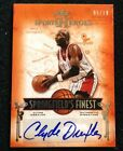 2013 Leaf Sports Heroes Springfield's Finest Clyde Drexler AUTO 5 10 Ssp