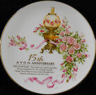 Avon Rose Collector Plate 15th  Avon Anniversary  VG