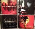 Westworld- S/T, Skin, Cyberdreams, Live... In The Flesh. Starbreaker (4 Cd Lot)
