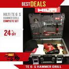 HILTI TE 6 S GREAT CONDITION COMPLETE SET FREE BITS LOTS OF EXTRASFAST SHIP