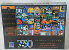 Sure-Lox 750 pc  Jigsaw Puzzle new George Fischer Houses of Magdalen Islands