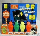 Vintage 1955 Dragnet Metal Target with Joe Friday Picture and Badge