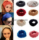 2015 Headwrap Crochet Knit Ear Twist Warmer Head Wrap Headband Women Hair Band