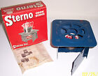 Vintage Sterno Foldable Cook Stove No. 33 with Original Box & Fuel