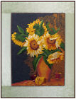 New Finished Embroidery Van Goghs Sunflowers Home Decor Wall Hangings Gift