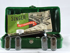 Vintage 1948 Singer Buttonholer Attachment #160506, 4 Templates,
