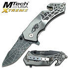 Spiderman Collector Spider Pocket Knife Comics small folding knife  SILVER