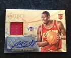 ANTHONY BENNETT 2013-14 PANINI SELECT 26 ROOKIE RC AUTO AUTOGRAPH JERSEY #1 Pick