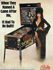 CHOICE OF ORIGINAL NOS PINBALL MACHINE SALES FLYERS BALLY WILLIAMS 1980s-1990s