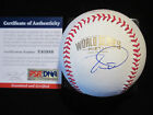TIM LINCECUM SIGNED 2014 WORLD SERIES BASEBALL PSA DNA SAN FRANCISCO GIANTS 1