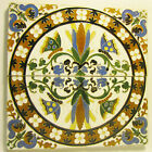 2 Vintage Arts & Crafts Era Mensaque Rodriguez Butterfly Bird Flower Tiles Spain