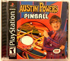 RARE ORIGINAL PLAYSTATION 1 PS1 AUSTIN POWERS PINBALL GAME 100% COMPLETE! NICE!