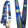 NBA Golden State Warriors Two Tone Clip On Lanyard
