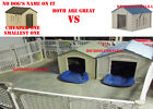 NEW XL Durable Plastic Kennel Pet Dog House All Seasons Weather Resin Doghouse