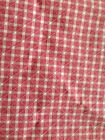 Waverly- 100% cotton Primose mini check 9 yds + 8 unlined  drapes to match