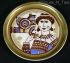 Franklin Mint Mosa Holland Mid Century Design Miniature Butter Pat Plate (FF)