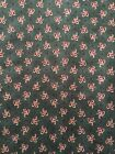 Crafts Sewing Quilt Fabric Red Rooster Around Town 4383 24095 Green Teal BTY