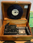 Vintage Thorens AD30 Swiss music box disc player Working with 6 discs