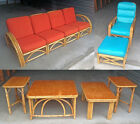 Authentic U.S. Made Vintage Bamboo Furniture