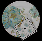 Set(4) 222 Fifth ELIZA SPRING TURQUOISE APPETIZER, DESSERT PLATES MORE AVAILABLE
