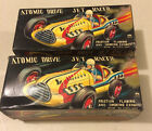 2- INDY ATOMIC DRIVE JET RACER #32 RACE CAR In boxes!! TOY  AAA SANEI JAPAN