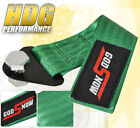 Universal Sport Towing Strap Cable Recovery Emergency Track Autox God Snow Green