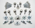 10 Dzus Style Quick Release 1/4 Turn Fairing Rivet Fasteners with 19mm Pins