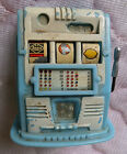 Little Bandit Vintage Toy Slot Machine made by E S LOWE Co in New York