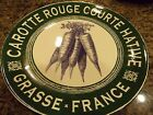 CERTIFIED INTERNATIONAL~FRENCH MARKET~GREEN BORDER~CARROTS~SALAD PLATE~NEW
