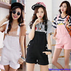 New Womens Candy Overall Jeans Denim Jumpsuits Trousers Shorts Hot Slim Pants