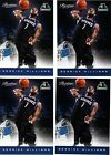 2012 Panini DERRICK WILLIAMS Starting 5 Rated Rookie SP #9 - Lot of 4