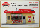 Bob's Hot Dog Stand Model RR Building Kit HO Scale 1:87 by Model Power