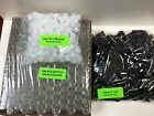 144 Pcs PLAIN Bottles 1 6 oz 5ML Clear Glass Roll on with Black Cap  Roller
