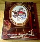 American Family Crafts ~ Crewel Picture Kit ~ Covered Bridge